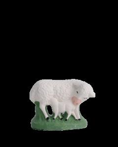 Brebis et agneau - 7CM