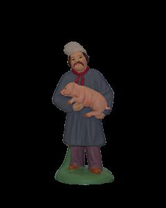 Homme au cochon - 7CM