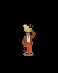 Homme aux poules - 2CM