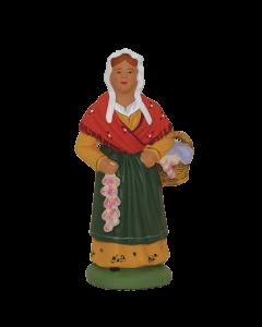 Femme à l'aïl - 9CM