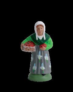 Femme aux tomates - 7CM