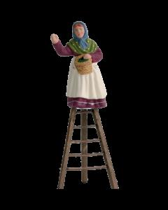 Cueilleuse olives/échelle - 7CM