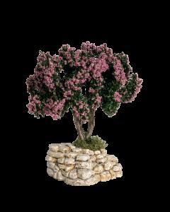 Arbre rose - Décor