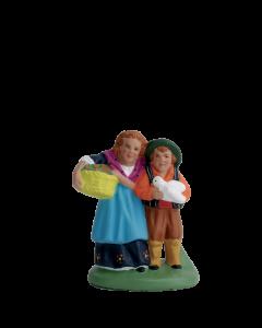 Couple d'enfants - 7CM