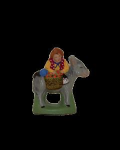 Enfant sur l'âne - 2CM