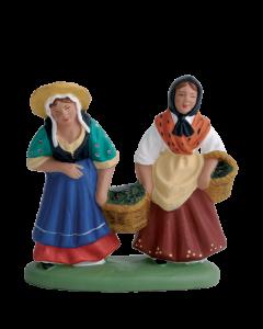 Couple porteuses olives - 7CM