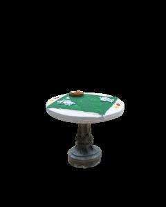 Table jeu de cartes 7cm - Décor