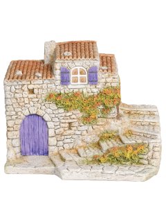 Maison aux escaliers - Décor