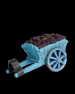 Charrette de raisins - Décor