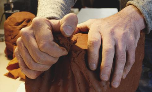 Fabrication française de santons